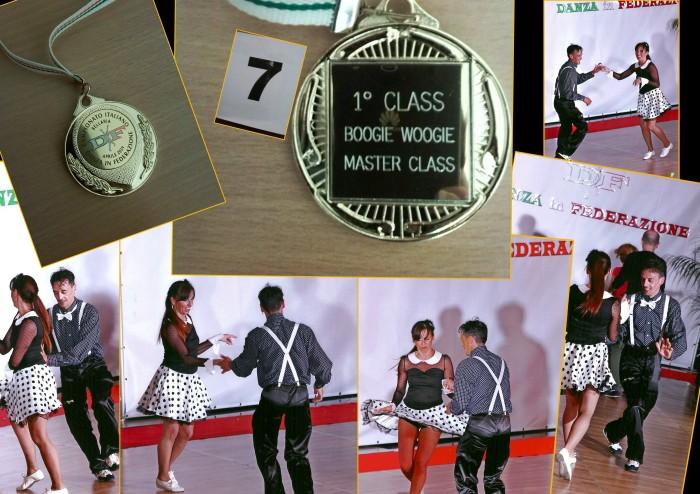 I Monelli dello Swing Gara Master class  Bellaria 1-¦ classificato