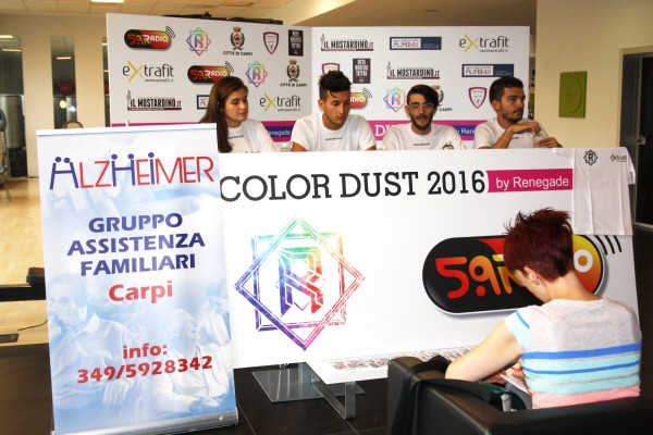 Color Dust 2016 conferenza stampa Web Radio 5.9 Extrafit