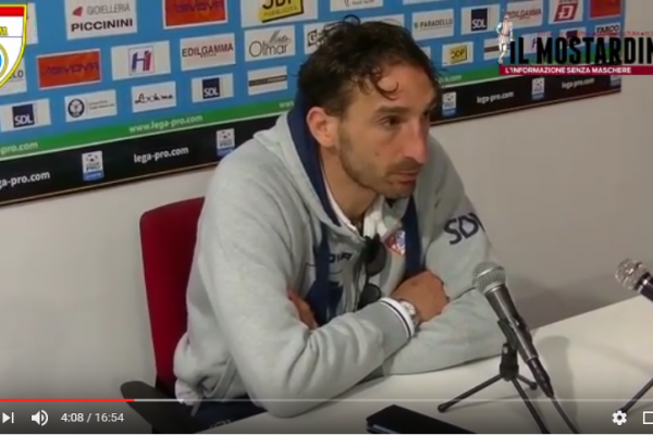Mantova-Teramo 0-0: il post-partita col nuovo socio Panella, Boniperti, Tonti, Salifu e mister Graziani