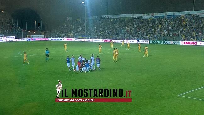 Frosinone-Carpi 0-1 gol di Letizia