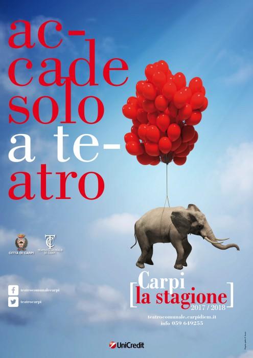 Carpi Teatro stagione 17-18
