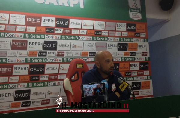 Perugia-Carpi 5-0, Calabro nel post-partita: