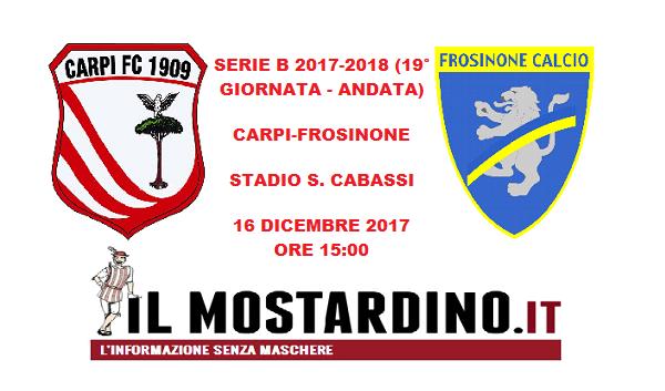 Carpi, l'avversario: focus sul Frosinone e sui precedenti in Emilia