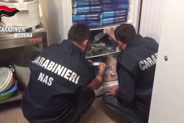 Carpi, controllo di Carabinieri e Nas di Parma in un ristorante giapponese/cinese: sanzioni per scarsa igiene