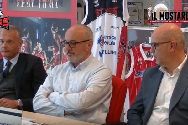 Il futuro degli Stings Mantova: la conferenza stampa col vicepresidente Adriano Negri, Paolo Cenna e Stefano Filippi