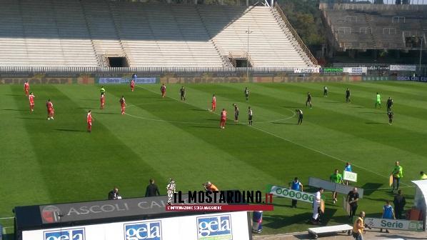 Ascoli-Carpi 1-0: biancorossi spenti, Cavion punisce al 60'
