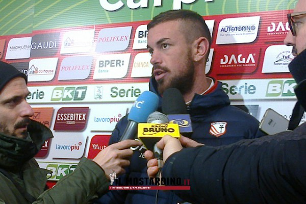 Castori, Sabbione e Jelenic: post-partita di Carpi-Salernitana 3-2