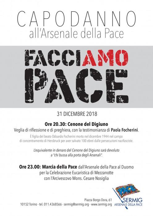 Marcia della Pace Torino Odoardo Focherini