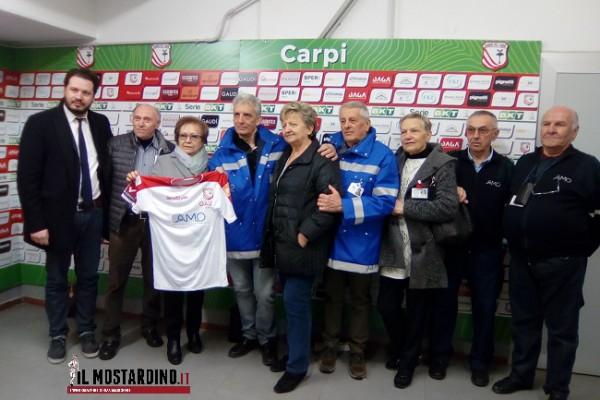 """Carpi, """"Cuore Biancorosso"""": presentazione di AMO come terzo charity sponsor"""