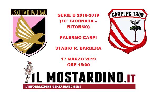 Palermo-Carpi 4-1: biancorossi a due volti e traditi dai nervi