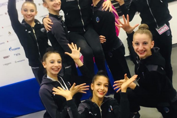 Mosca (Russia), Campionati del Mondo di Ginnastica Ritmica: Alexandra Naclerio medaglia d'argento