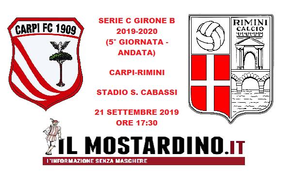 Verso Carpi-Rimini: focus sui precedenti