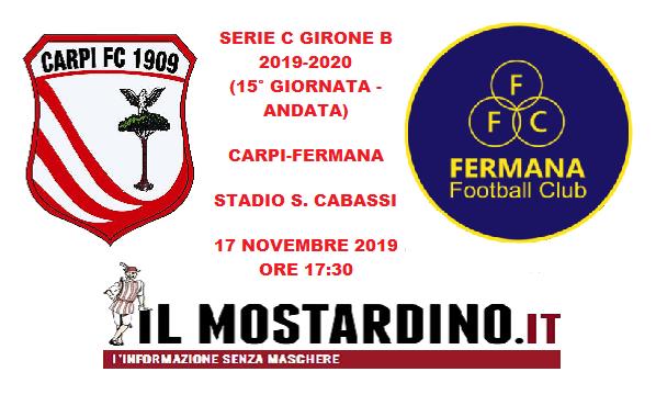 Serie C, l'avversario del Carpi: focus sulla Fermana e sui precedenti