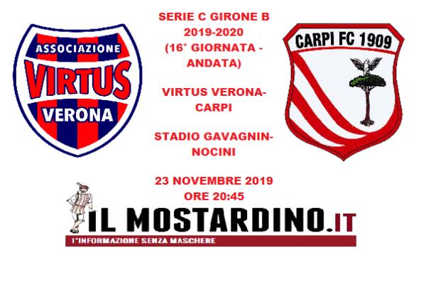 Serie C, l'avversario del Carpi: focus sulla Virtus Verona