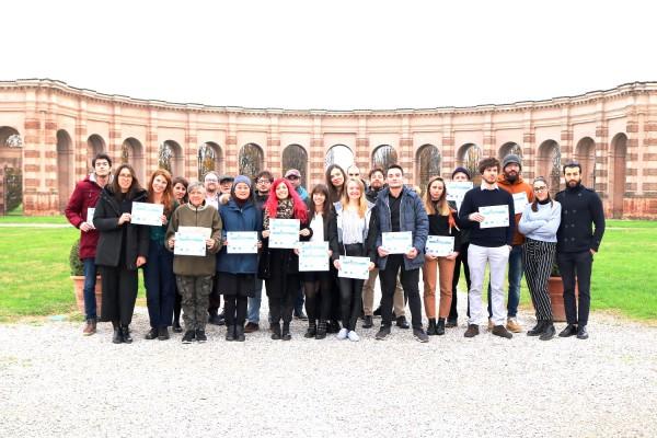 Hackathon MITH, le premiazioni dei concorrenti nella splendida cornice di Palazzo Te a Mantova