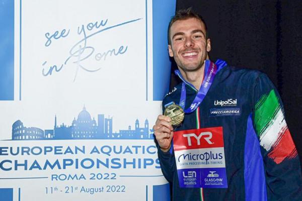 Nuoto, Europei vasca corta: Paltrinieri campione dei 1500 m