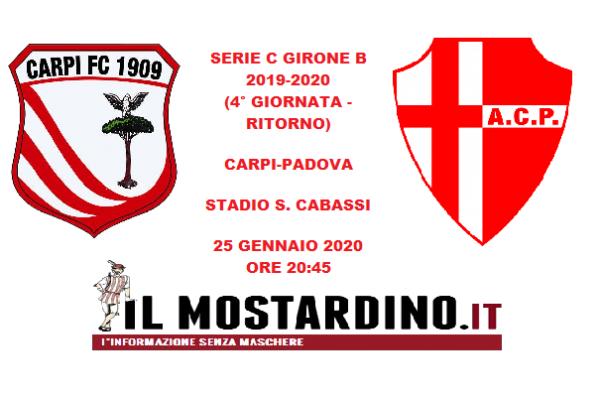 Serie C, l'avversario del Carpi (un girone dopo): focus sul Padova