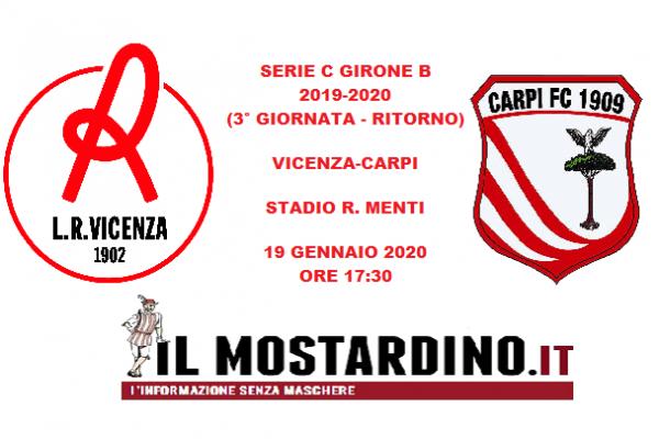 Serie C, l'avversario del Carpi (un girone dopo): focus sul Vicenza