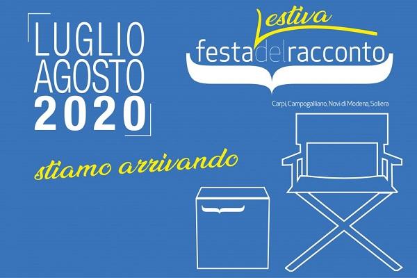 Carpi, Festa del Racconto 2020: programma di luglio