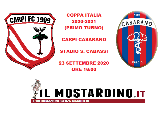Carpi, l'avversario di Coppa Italia: focus sul Casarano