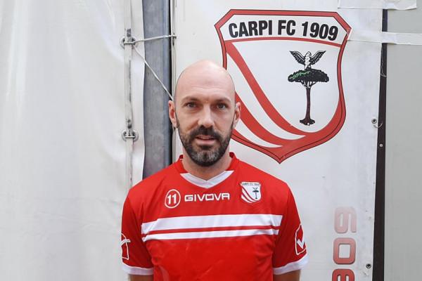 Carpi: ufficiale l'esperto difensore ex Modena Simone Gozzi