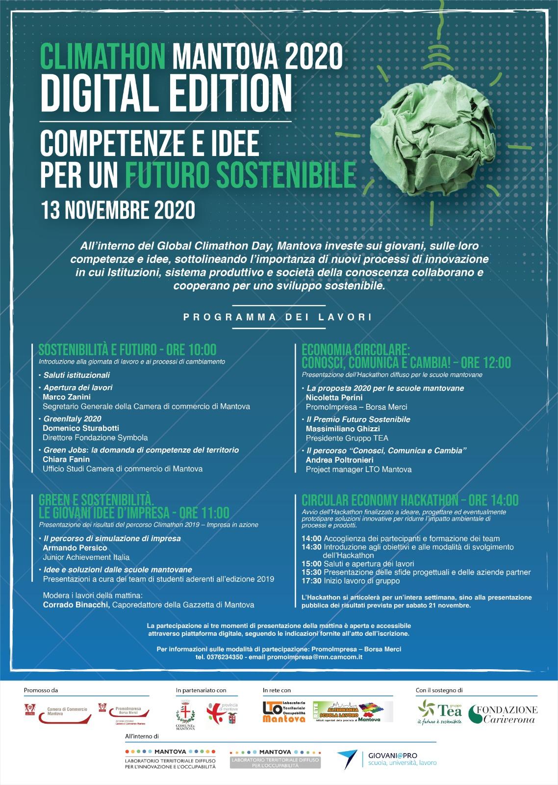 Climathon 2020 Mantova
