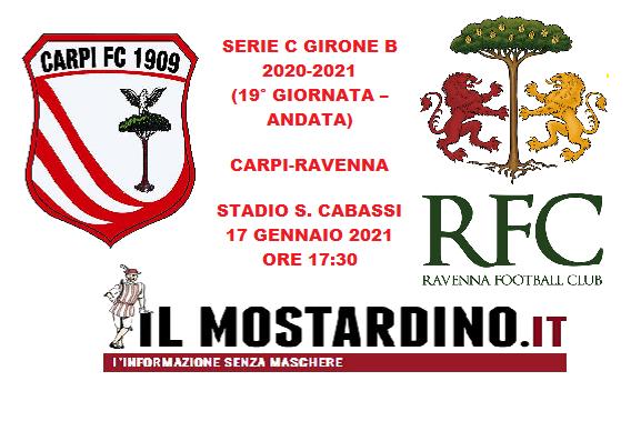 Serie C, l'avversario del Carpi: focus sul Ravenna. Precedenti: 3 novembre 2019, spumeggiante 4-1 biancorosso al Cabassi