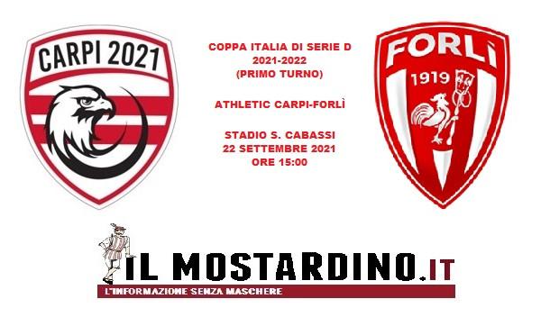 Athletic Carpi, l'avversario della Coppa Italia di Serie D: focus sul Forlì