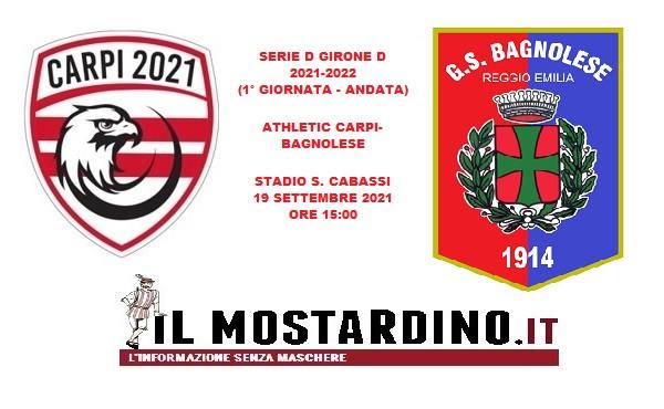 Serie D, l'avversario dell'Athletic Carpi: focus sulla Bagnolese